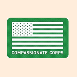 Compassionate Corps logo | Free medication to eligible, uninsured veterans program | San Francisco