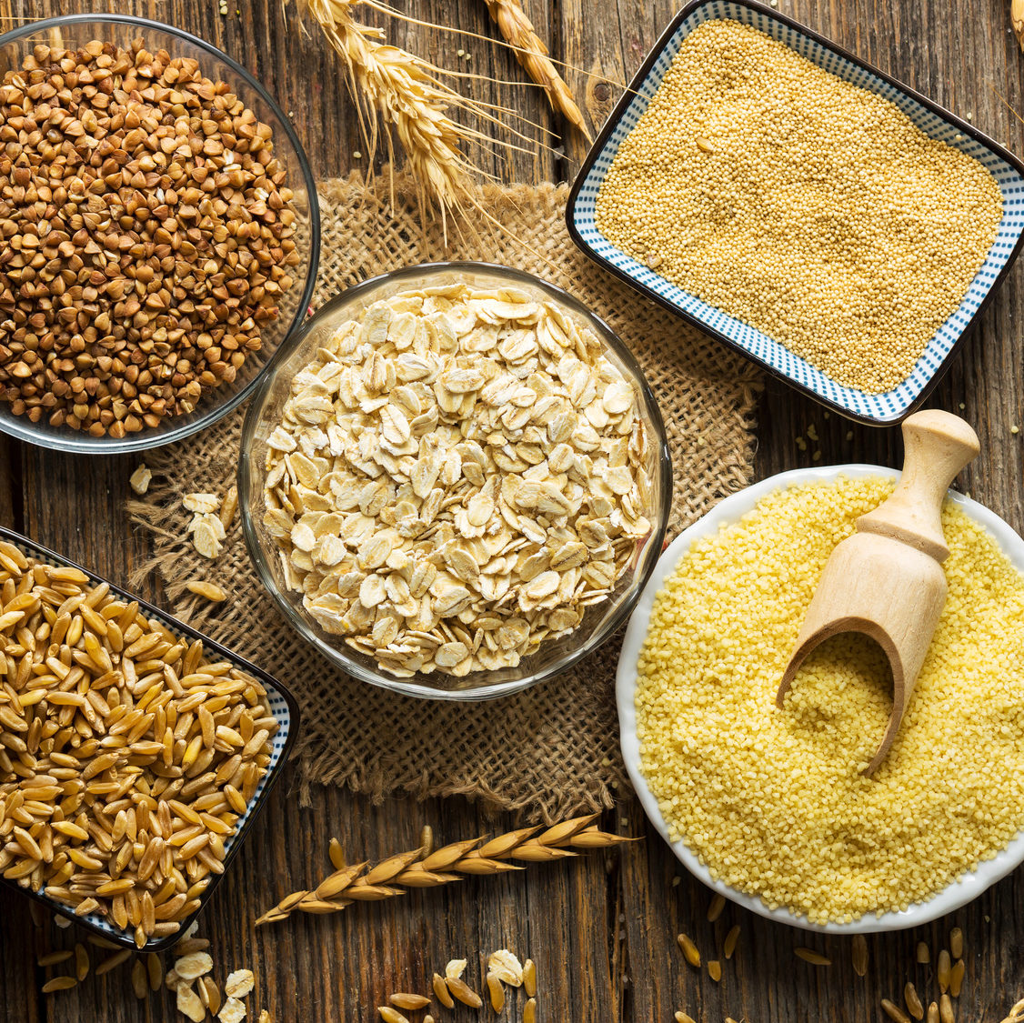 whole grains improve fertility