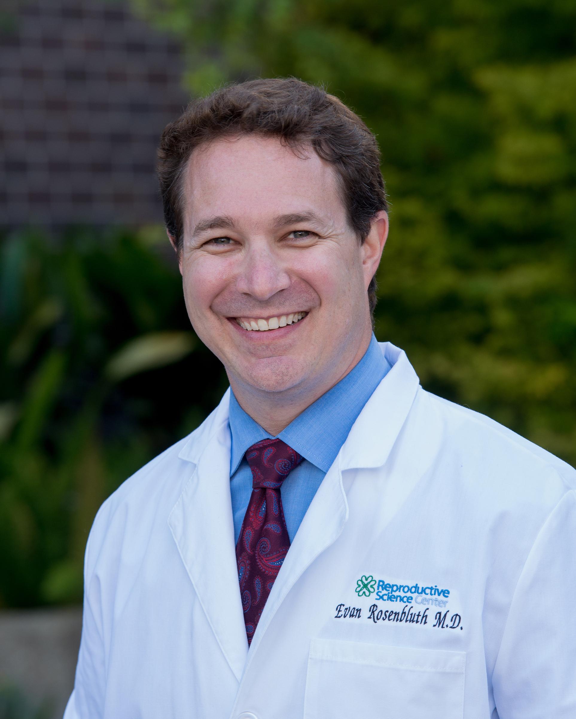 Dr. Evan Rosenbluth | RSC Bay Area Fertility