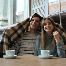A couple, smiling about pursuing embryo donation| RSC of The San Francisco Bay Area
