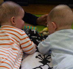A Twin Mom's Post Infertility Survivor Guilt